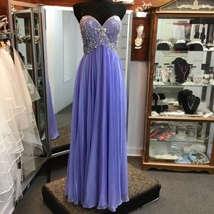 Alyce 6682 Periwinkle size 14
